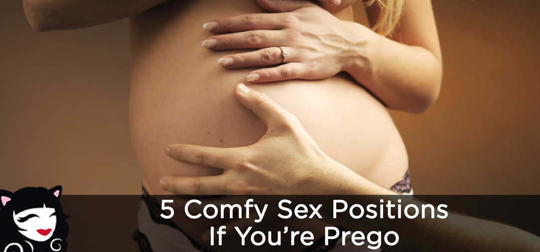5 Comfy Sex Positions if You're Prego